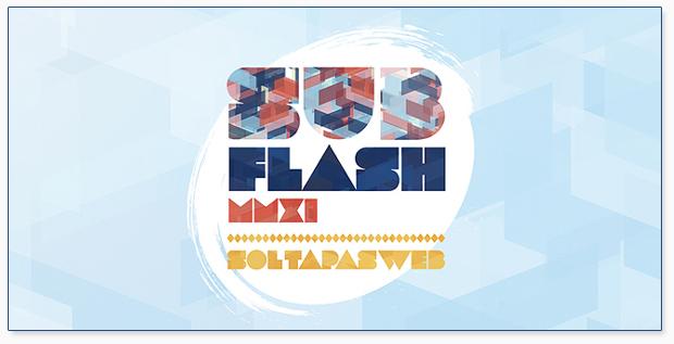 Subflash 2011 - Sol, tapas y web...