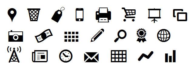 A Free Icon Webfont