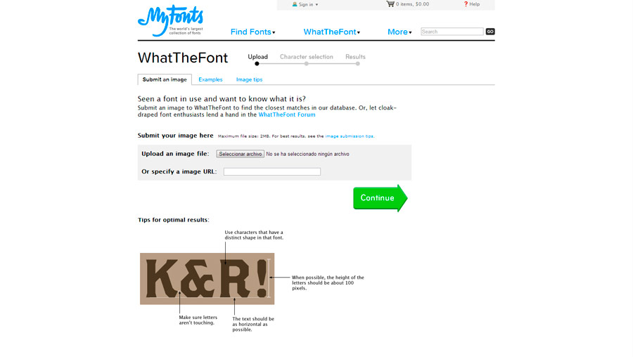 WhatTheFont!
