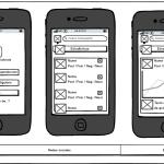 mockup diseño iOS