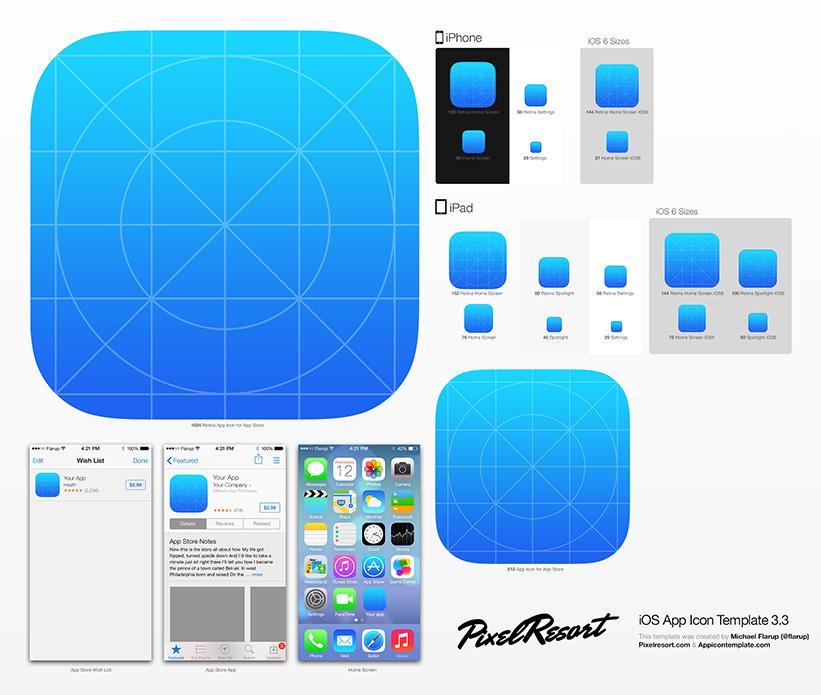 iconos app ios diseño